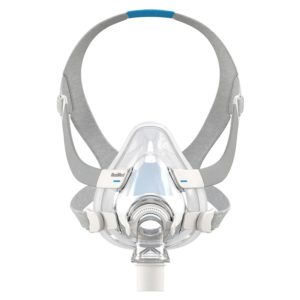 ResMed AirFit™ F20 Full Face Mask System with headgear for sleep apnea