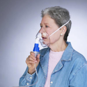sidestream nebulizer mask