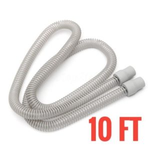 Replacement-10-Foot-Long-Ultra-Light-15mm-SlimLine-Hose-Tubing-For-CPAP-BiPAP-Machine